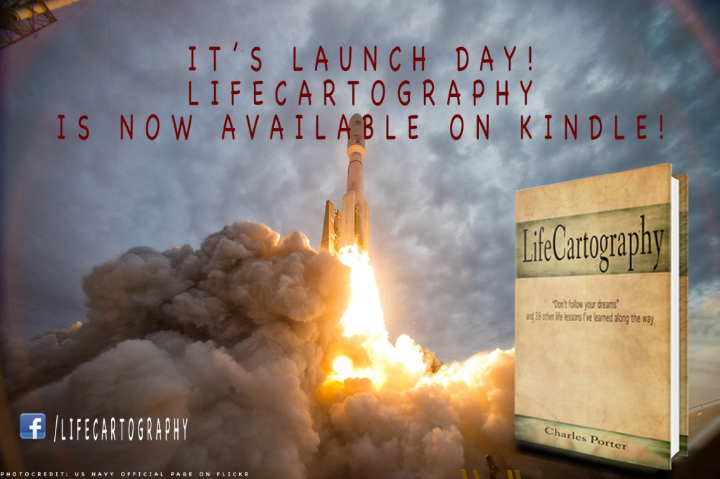 Lifecartography launch day