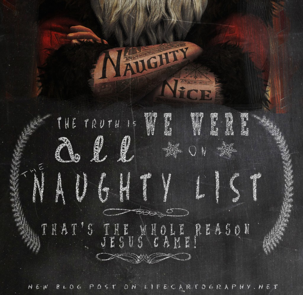 We were all on the naughty list